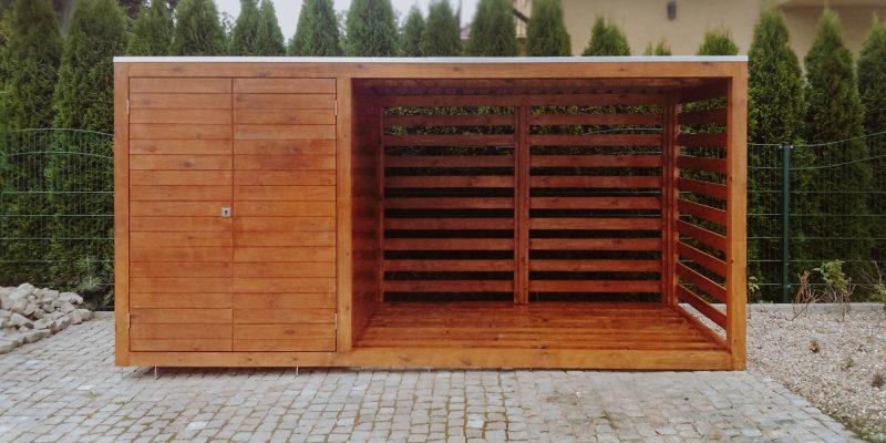 Drewutnia nowoczesna, drewutnia, Wrocław, Oleśnica